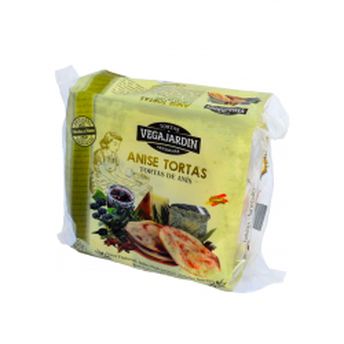 Vegajardin Anise Olive Oil Tortas 180 g