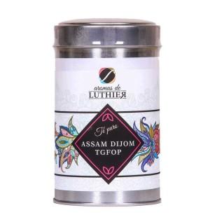 Schwarzer Tee Assam Dijom Tgfop 40 Pyramiden-Tee-Aufgussbeutel mit je 2,5 g