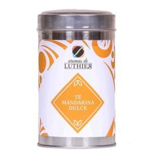 Schwarzer Tee süsse Mandarine 40 Pyramiden-Tee-Aufgussbeutel mit je 2,5 g