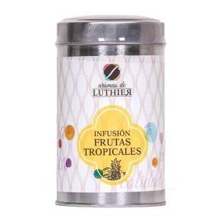 Früchtetee Tropische Früchte 40 Pyramiden-Tee-Aufgussbeutel mit je 2,5 g