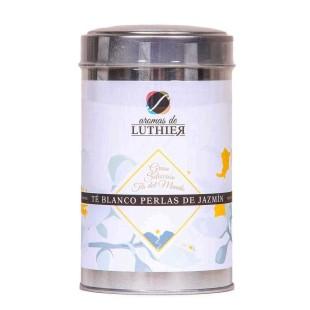 Weißer Tee Jasmin Perlen 30 Pyramiden-Tee-Aufgussbeutel mit je 2,5 g