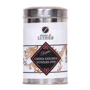 Schwarzer Tee Golden Yunnan Fop 40 Pyramiden-Tee-Aufgussbeutel mit je 2,5 g