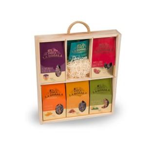 5er Goldpack mit Nüssen, Mandeln, Pistazien und Sonnenblumenkernen Finca La Rosala