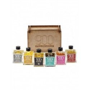 Pack Olivenöl Virgen Extra aromatisiert 901 (6 x 100 ml)