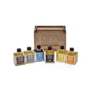 Pack Aceites de Oliva Virgen Extra 902 Aromatizados (6 x 100 ml)