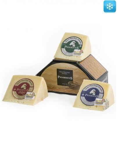 Tasting Pack Manchego PDO Pasamontes. Pack 3 x 250 g