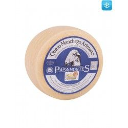 Halbgereifter Manchego Käse DOP aus Rohmilch Pasamontes 2,3 kg