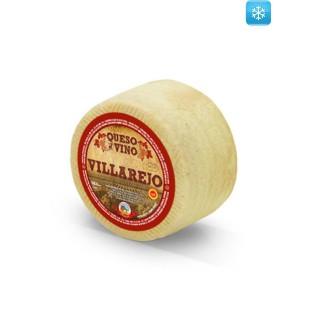 Queso de oveja artesano al vino blanco Villarejo (1,1 kg / 3,1 kg)