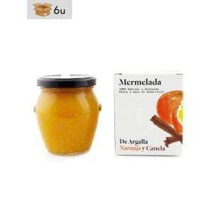 Mermelada artesana de Naranja y Canela De Argalla. Pack 6 x 220 g