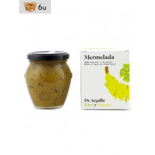 Artisan Jam of Kiwi and Banana De Argalla. Pack 6 x 220 g