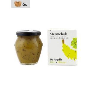Mermelada artesana de Kiwi y Plátano De Argalla. Pack 6 x 220 g