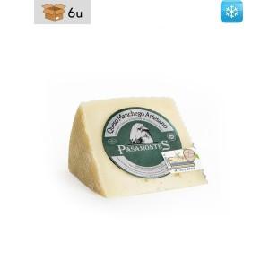 Ausgereifter Manchego Käse DOP aus Rohmilch Pasamontes. Pack 6 x 300 g