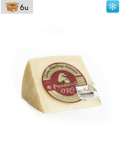 Queso Manchego DOP Añejo Pasamontes. Pack 6 x 300 g
