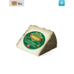 Handwerklich hergestellter Schafskäse mit Thymian Villarejo. Pack 6 x 380 g