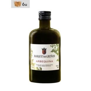 Arbequina Extra Virgin Olive Oil Marqués de Griñón. Pack 6 x 500 ml