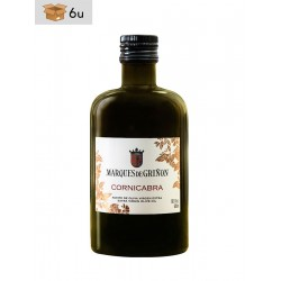Aceite de Oliva Virgen Extra Cornicabra Marqués de Griñón. Pack 6 x 500 ml
