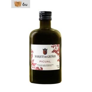 Picual Extra Virgin Olive Oil Marqués de Griñón. Pack 6 x 500 ml