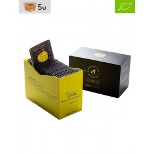 Organic Extra Virgin Olive Oil single-dose Utopía. Pack 5 x 360 ml