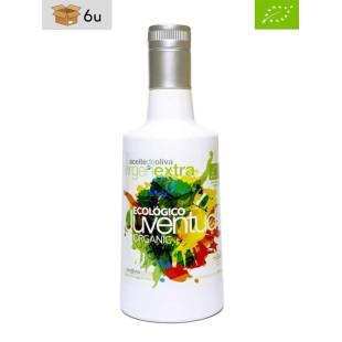 Aceite de Oliva Virgen Extra Ecológico Cornicabra Juventud. Pack 6 x 500 ml