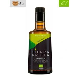 Aceite de Oliva Virgen Extra Ecológico Coupage Sierra Prieta. Pack 6 x 500 ml