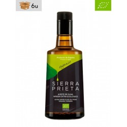 Coupage Organic Extra Virgin Olive Oil Sierra Prieta. Pack 6 x 500 ml