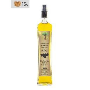 Aceite de Oliva Virgen Extra Coupage aroma Trufa Negra Spray Olí Olé. Pack 15 x 250 ml