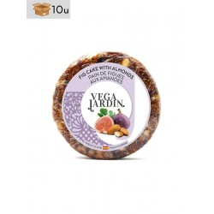 Fig Cake with Almonds Vegajardin. Pack 10 x 200 g