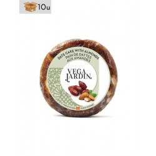 Pan de Dátil con Almendras Vegajardin. Pack 10 x 200 g