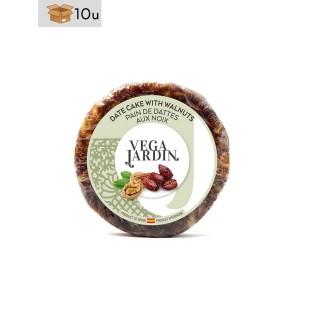 Dattelbrot mit Walnüssen Vegajardin. Pack 10 x 200 g