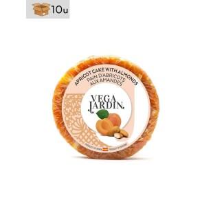 Pan de Albaricoque con Almendras Vegajardin. Pack 10 x 200 g
