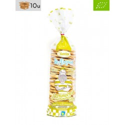 Organic Crackers with Extra Virgin Olive Oil Bag Daveiga. Pack 10 x 200 g
