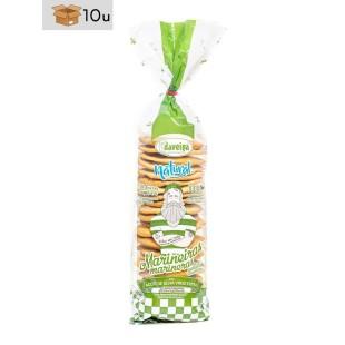 Bolsa Galleta Marinera con Aceite de Oliva Virgen Extra Daveiga. Pack 10 x 200 g