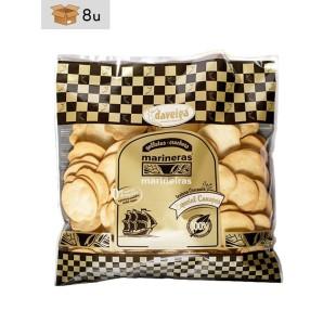 Bolsa Extra Galleta Marinera Clásica con Mantequilla Daveiga. Pack 8 x 500 g