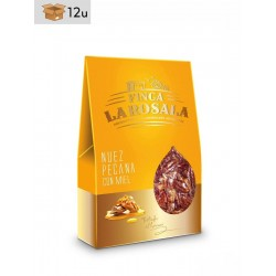 Nuez Pecana con Miel Finca La Rosala. Pack 12 x 60 g