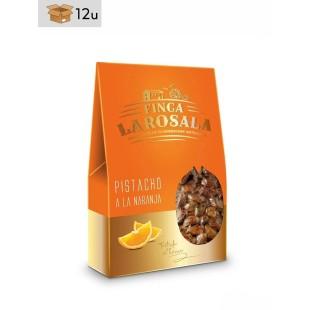 Orangen-Pistazien Finca La Rosala. Pack 12 x 60 g