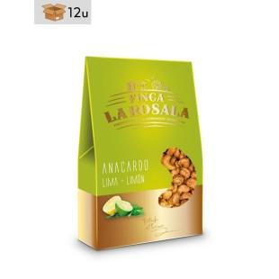 Cashewnüsse Zitrone Limette Finca La Rosala. Pack 12 x 60 g