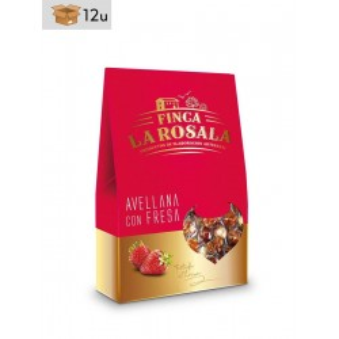 Haselnüsse mit Erdbeere Finca La Rosala. Pack 12 x 60 g