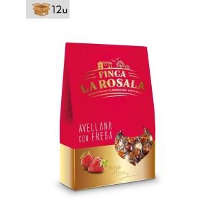 Hazelnut with Strawberry Finca La Rosala. Pack 12 x 60 g