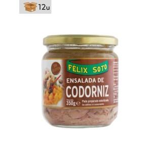 Ensalada de Codorniz. Pack 12 x 350 g