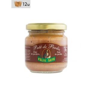 Paté de Perdiz. Pack 12 x 130 g