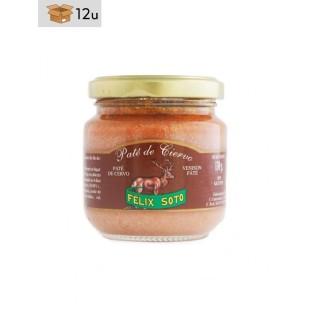 Hirsch-Paté. Pack 12 x 130 g