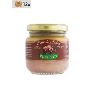 Wildschwein-Paté. Pack 12 x 130 g
