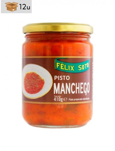 Pisto Manchego. Pack 12 x 410 g
