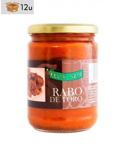 Rabo de Toro. Pack 12 x 400 g