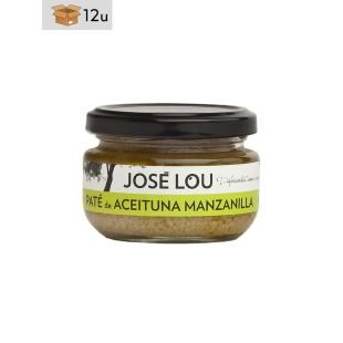 Paté Aceituna Manzanilla José Lou. Pack 12 x 110 g