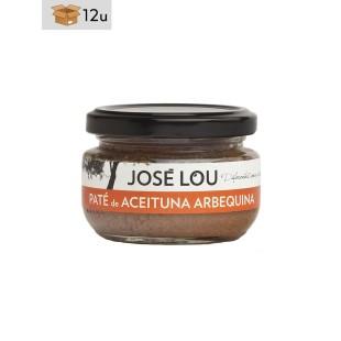 Arbequina Olive Pate José Lou. Pack 12 x 110 g