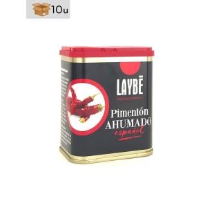 Pimentón Ahumado Español. Pack 10 x 80 g