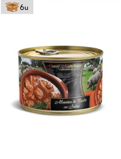 Pig´s trotters in sauce. Pack 6 x 415 g