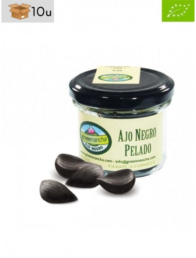 Ajo Negro Ecológico. Pack 10 x 50 g