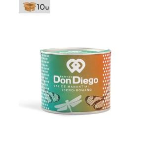 Esencia de Flor de Sal de Manantial Don Diego. Pack 10 x 125 g